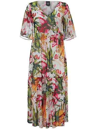 Beförderung Release-Info zu konkurrenzfähiger Preis Kleid mit transparentem 1/2-Arm