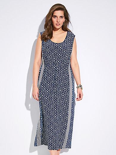 Persona by Marina Rinaldi - Sleeveless dress - blue white 216f640cff