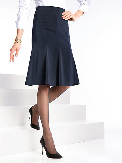 Peter Hahn - A-line skirt with flared hem