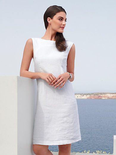 Peter Hahn - Ärmelloses Kleid aus 100% Leinen