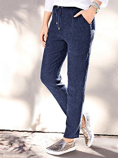 Peter Hahn - Ankle-length pull-on trousers