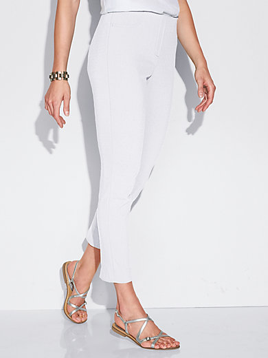 Ankle-length trousers - SYLVIA fit Peter Hahn white Peter Hahn LinZU