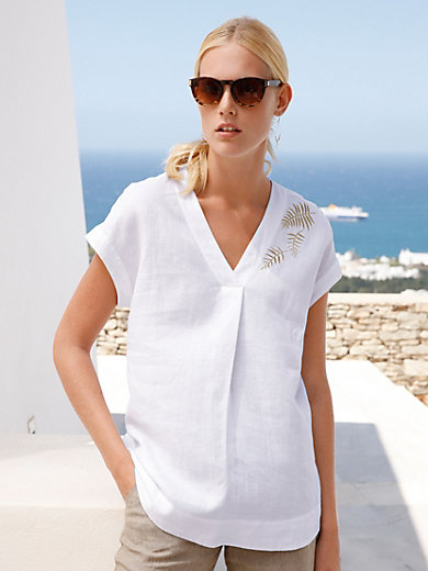 Peter Hahn - Blouse in 100% linen