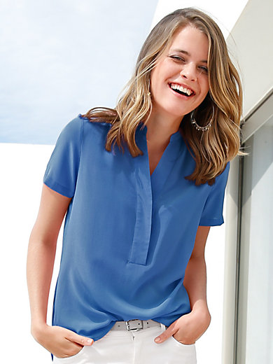 Peter Hahn - Blouse with 1/2-length sleeves
