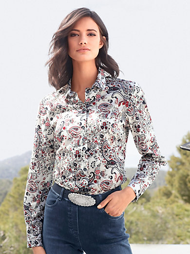 Authentic Online For Sale Cheap Real Peter Hahn Floral blouse multicoloured 8KrHfu4