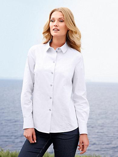 Peter Hahn - Bluse in leicht taillierten Hemdblusen-Schnitt
