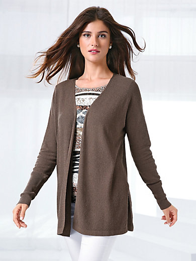 Best Prices Sale Online Cardigan Peter Hahn brown Peter Hahn Latest tHJHBmE1n