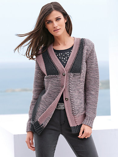 Peter Hahn - Cardigan with decorative buttons
