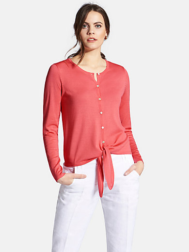 Peter Hahn - Cardigan with round neckline