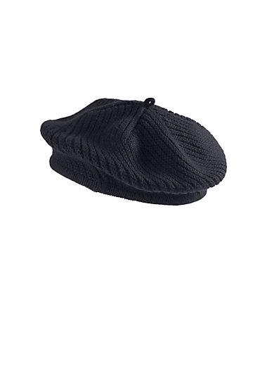 Peter Hahn Cashmere - Baskenmütze in 100% Kaschmir