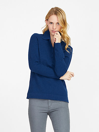 Peter Hahn Cashmere - Bluse fra PETER HAHN CASHMERE