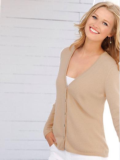 555e3803c40 Cardigan in 100% cashmere design Cora