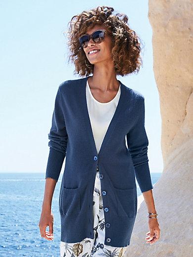 Peter Hahn Cashmere - Cardigan in 100% cashmere design Jennifer