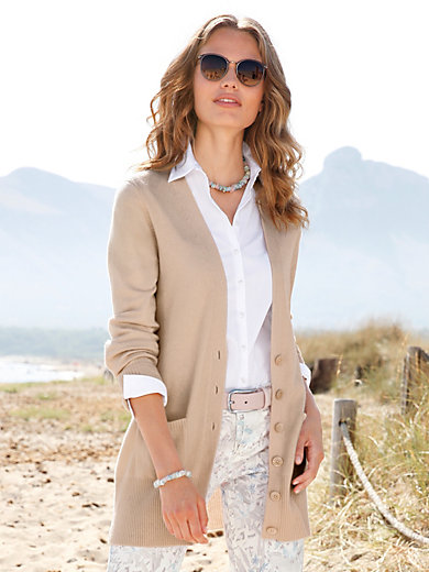 Peter Hahn Cashmere - Cardigan in 100% cashmere - Design JENNIFER