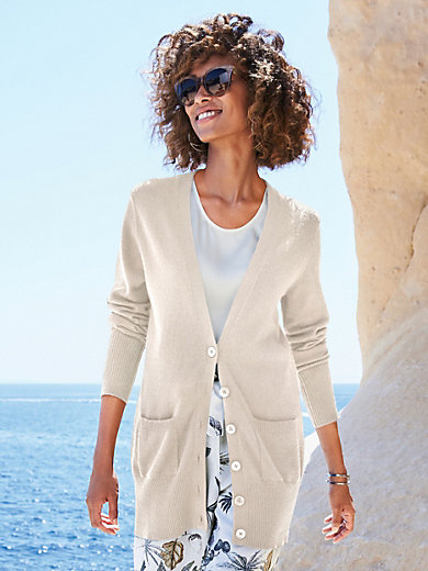 Peter Hahn Cashmere - Cardigan in 100% cashmere design Jennifer