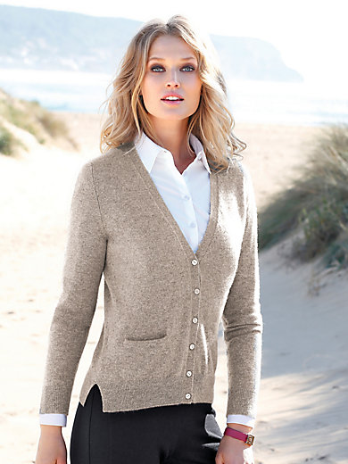 Peter Hahn Cashmere - Cardigan in 100% cashmere design Sina