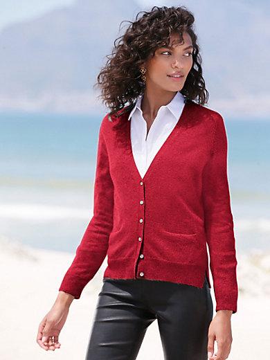 Peter Hahn Cashmere - Cardigan in Pure cashmere in premium quality desig
