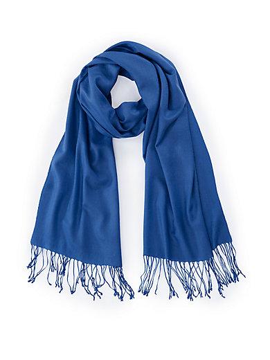 Peter Hahn Cashmere - L écharpe 100% cachemire - bleu roi 46b7b685c5b