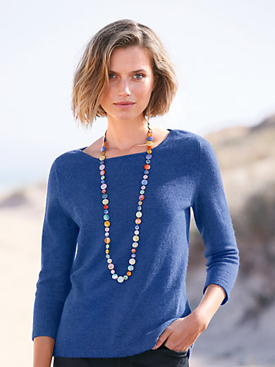 Peter Hahn Cashmere - Le pull manches 3/4 100% cachemire