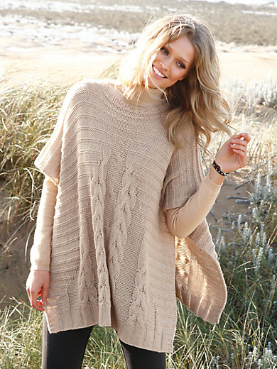 Peter Hahn Cashmere Nature - poncho