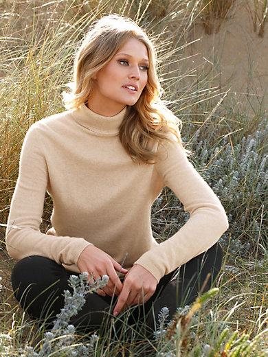 Peter Hahn Cashmere Nature - Rollkragen-Pullover aus reinem Kaschmir