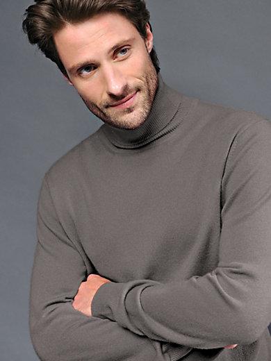 Peter Hahn Cashmere - Polo neck jumper in 100% cashmere - Design ROLAND