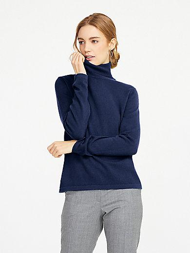 Peter Hahn Cashmere - Polo neck jumper in 100% cashmere design Roxy