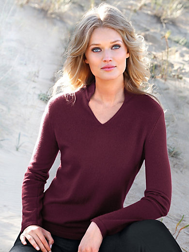 Peter Hahn Cashmere - Pullover aus 100% PREMIUM Kaschmir Modell Vivien