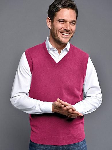 """Peter Hahn Cashmere - Pullunder Modell """"Peter"""" aus 100% Kaschmir"""