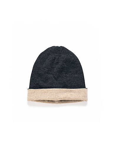 Peter Hahn Cashmere - Reversible hat