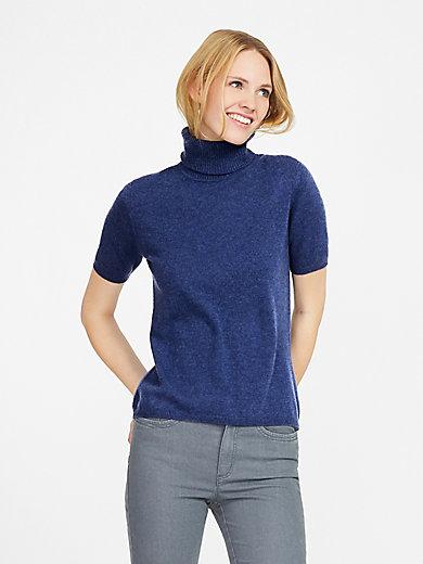 Peter Hahn Cashmere - Roll-neck jumper in 100% cashmere design Rebecca