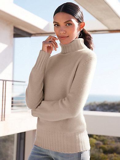 best supplier united kingdom quality products Rollkragen-Pullover aus 100% Premium-Kaschmir