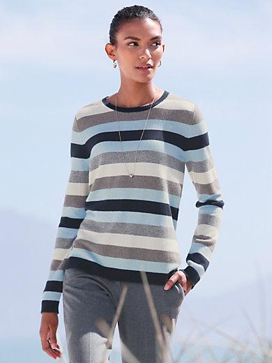 Peter Hahn Cashmere - Rundhalsad tröja i 100% kashmir i Premium-kvalitet