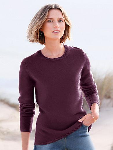 Peter Hahn Cashmere - Rundhalsad tröja i 100% kashmir, modell Olivia