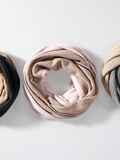 Peter Hahn Cashmere - Schal aus 100% Kaschmir mit Rollkanten