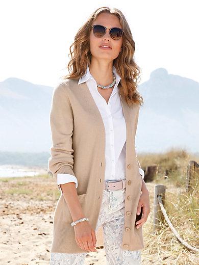 Peter Hahn Cashmere - Strickjacke Jennifer aus 100% Kaschmir