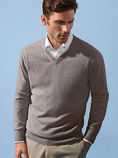 Peter Hahn Cashmere - V-neck jumper - design VALENTIN