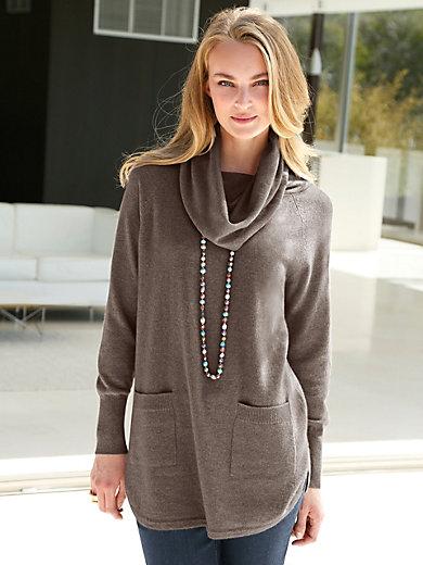 Peter Hahn Cashmere - V-Pullover aus Seide mit Kaschmir Modell AMY