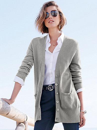 Peter Hahn Cashmere - Vest model Jennifer van 100% kasjmier, Topkwalitei