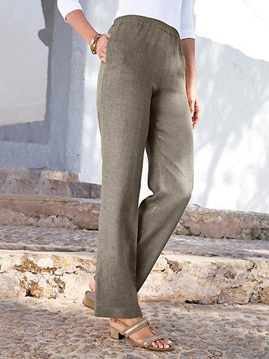 Peter Hahn - Comfortbroek van 100% linnen