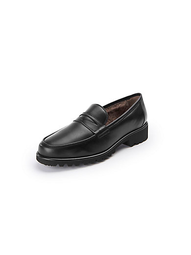 Loafers Peter Hahn exquisit black Peter Hahn Py3lX9gfzG
