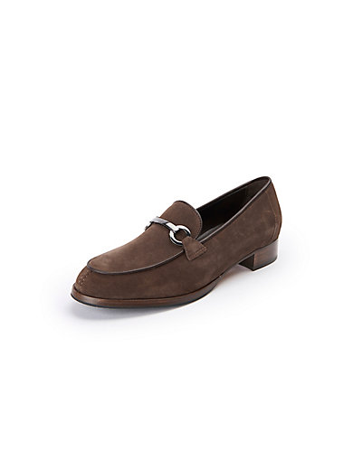 Loafers in 100% leather Peter Hahn exquisit white Peter Hahn z6b4K
