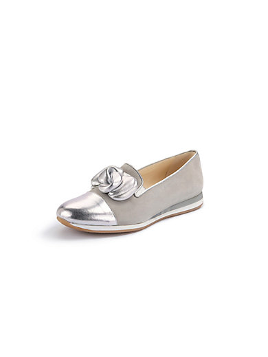 5f712f236fbc Peter Hahn exquisit - Loafers - light grey