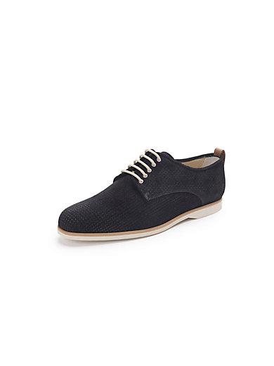Peter Hahn exquisit - Schnür-Schuh mit modischer Perforierung