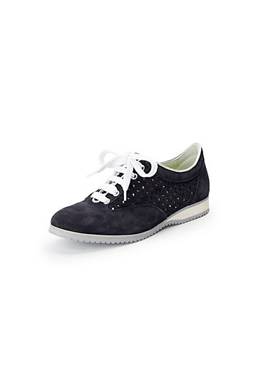 Lace-up shoes in 100% leather Peter Hahn exquisit blue Peter Hahn Eastbay Store Sale Online v4UORiolZ