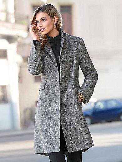 kort uldfrakke dame