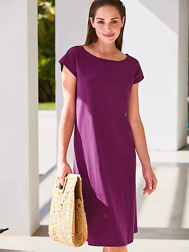 Peter Hahn - Freizeit-Kleid mit Rundhals-Ausschnitt