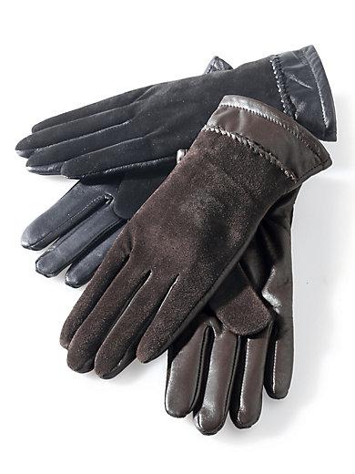 Peter Hahn - Handske af nappa og ruskind