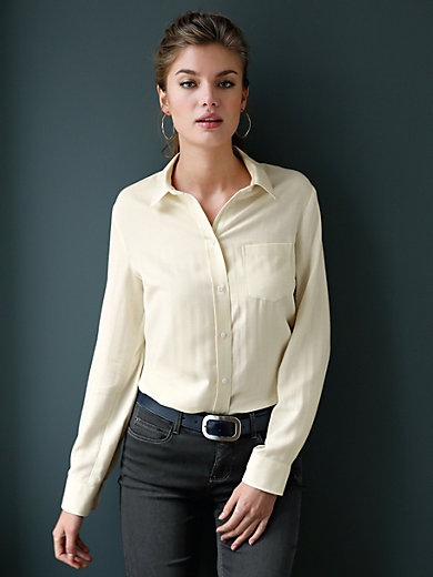 Peter Hahn - Herringbone design blouse