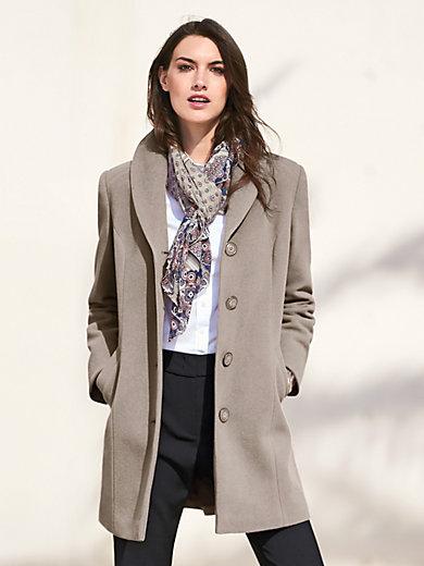 Peter Hahn - Jacke mit Schalkragen und schrägen Taschen